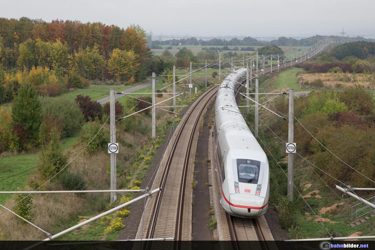 Bahnbilder.netSchlagwort-Archive: ICE 4Neue Bilder 08.10.2015: Neubaustrecke Köln-RheinMain bei Weilbach, Bischofsheim